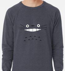 Totoro Face Lightweight Sweatshirt