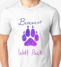 Benevolent Wolf Pack Bene Colours Unisex T-Shirt