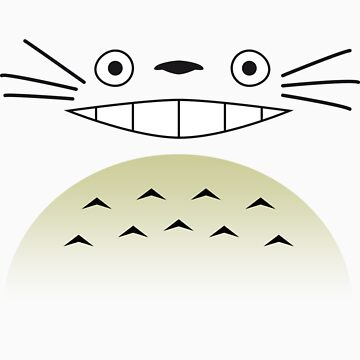 Totoro Face 2.0 by PyroDraco