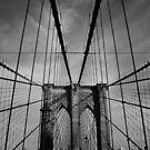 New York City, Brooklyn Bridge von thomasrichter