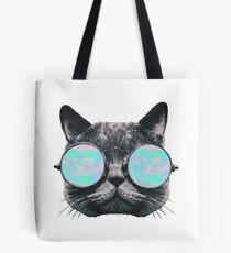 Cat Eye Hologram Tote Bag