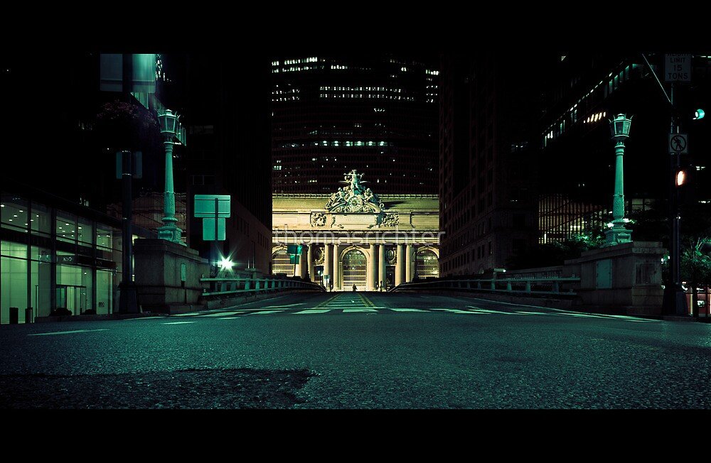 New York City, Grand Central Terminal by thomasrichter