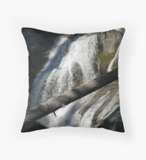 Bear Creek Falls I Throw Pillow