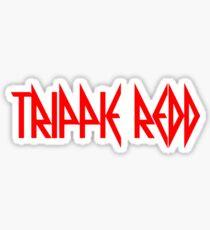 Trip Red Logo Sticker