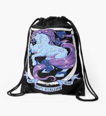 Diamond Monarch Drawstring Bag
