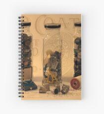 Three Button Jars Spiral Notebook