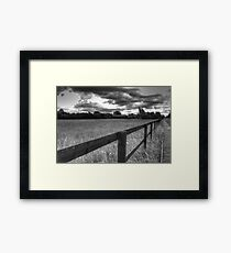 Just another grey day in England Framed Print