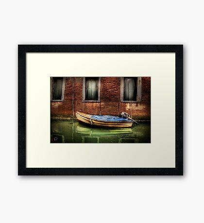 Kim - of Venice Framed Print