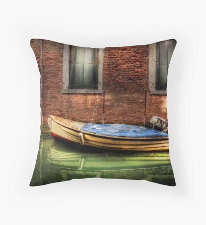 Kim - of Venice Throw Pillow