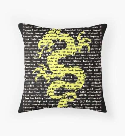 """""""The Year Of The Dragon"""" Cards Throw Pillow"""