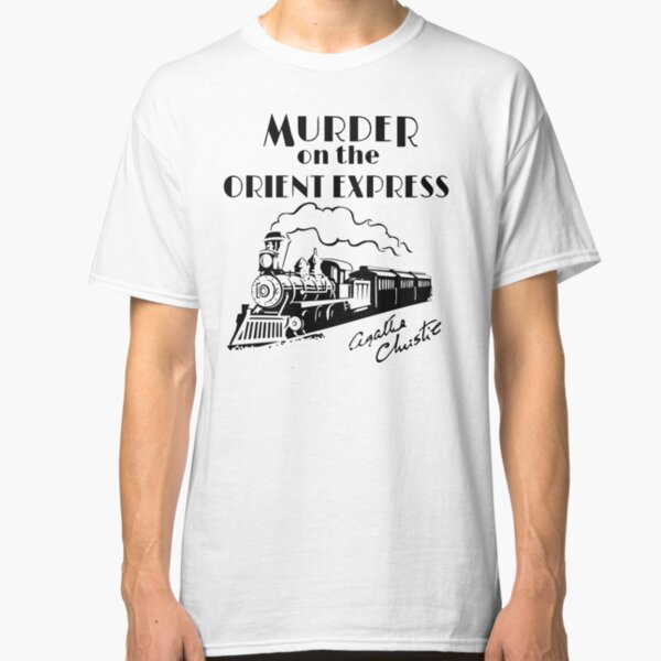 Murder on the Orient Express Agatha Christie book cover Classic T-Shirt
