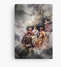 The Discussion Canvas Print