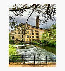Salts Mill Photographic Print