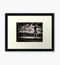 Salts Park Framed Print