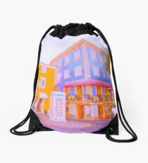 villa Drawstring Bag