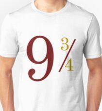 Nine and Three Quarters Unisex T-Shirt