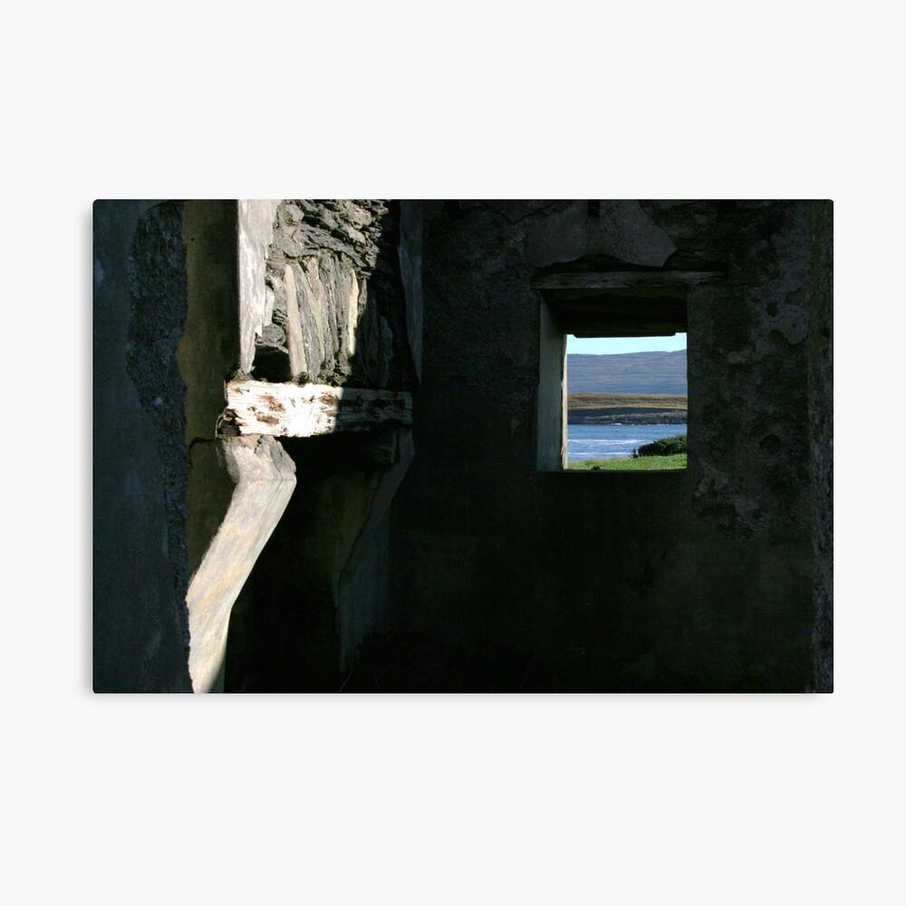 Derelict view Canvas Print