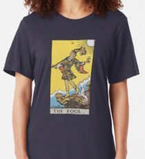 Tarot - The Fool Slim Fit T-Shirt