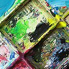 Artist's Pallette No.3 by Orla Cahill Photography