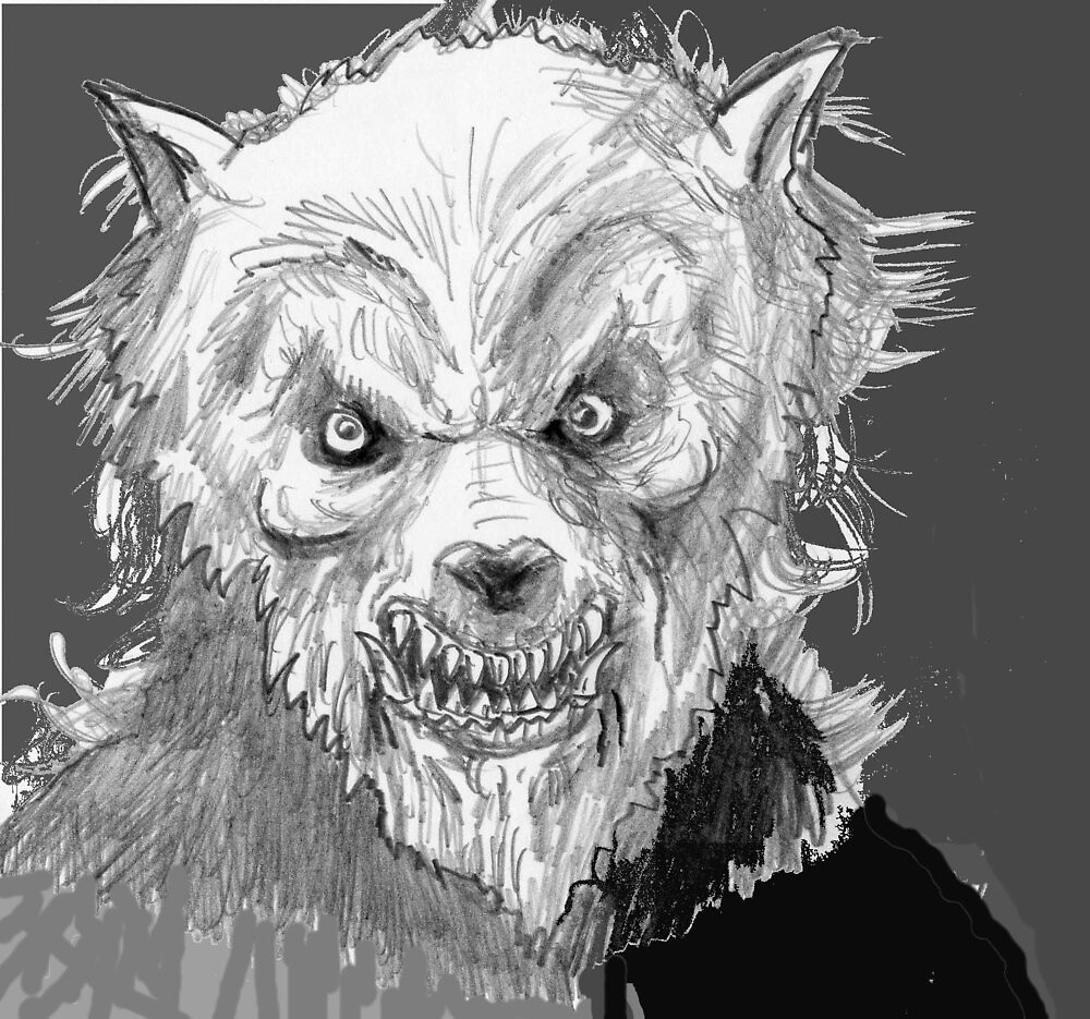 'The Wolfman (revised) by mattycarpets