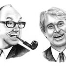 Morecambe and Wise by Margaret Sanderson