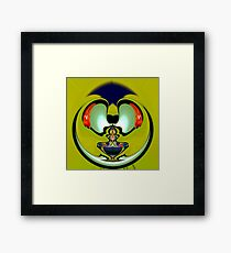 Aladdin lamp Framed Print