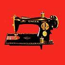 VINTAGE SEWING MACHINE-PILLOWS-TOTE BAG-JOURNAL-SCARF-ECT. by ✿✿ Bonita ✿✿ ђєℓℓσ