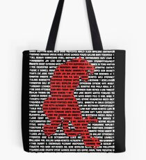 """""""The Year Of The Tiger"""" Cards Tote Bag"""