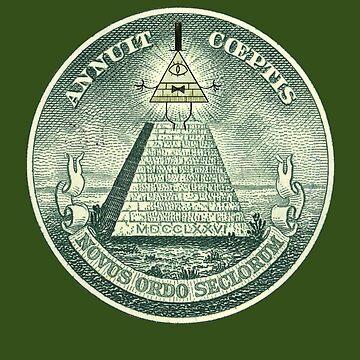 Bill Cipher Illuminati de DanielDesigns