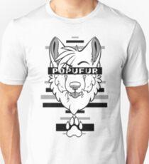 POPUFUR -grey- T-Shirt