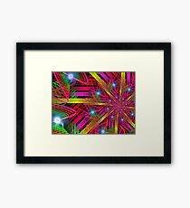 ribbons and stars Framed Print