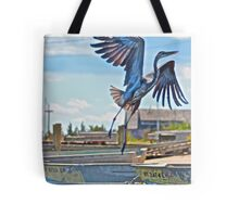 Great Blue - Cpt. Marty's  Tote Bag