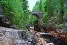 Crossing the Halgan Stream by Jo Nijenhuis