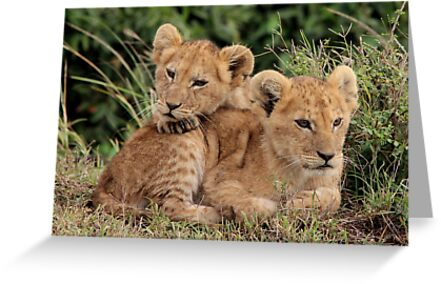 Out of Africa - Lean on Me by Sally Haldane