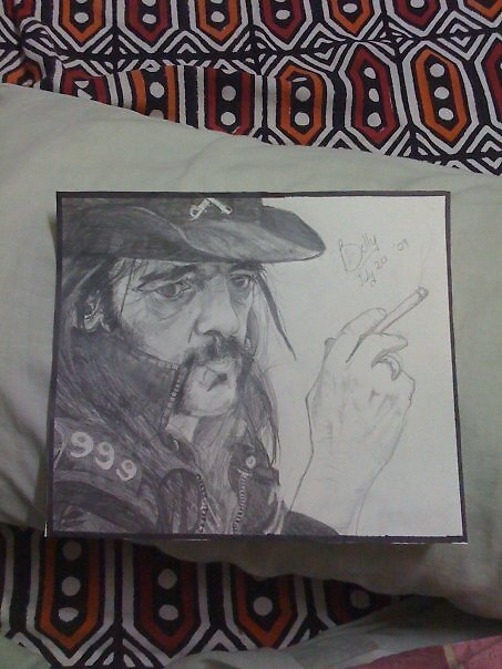 Lemmy Kilmister by bellamyribeiro