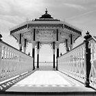 Brighton Bandstand  B&W by jason21