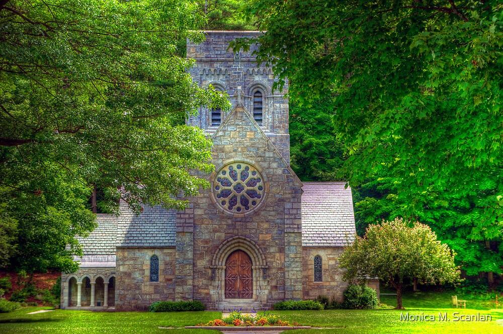 All Saints Church by Monica M. Scanlan