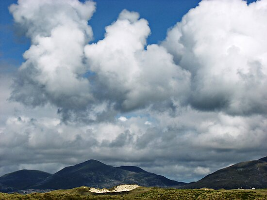 Storm Brewing - Dramatic Hebridean Sky by BlueMoonRose