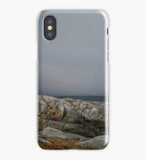 Peggy's Cove Lighthouse Nova Scotia Canada iPhone Case/Skin