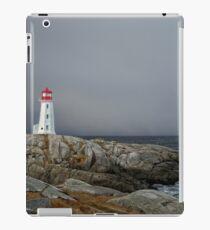 Peggy's Cove Lighthouse Nova Scotia Canada iPad Case/Skin
