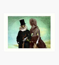 Mr. and Mrs. Schnabel Art Print