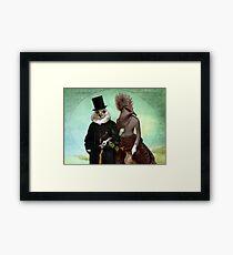 Mr. and Mrs. Schnabel Framed Print