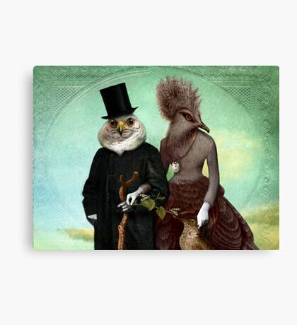 Mr. and Mrs. Schnabel Canvas Print