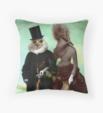 Mr. and Mrs. Schnabel Throw Pillow