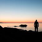 Silent Silhouette – Acadia National Park, Maine by Jason Heritage