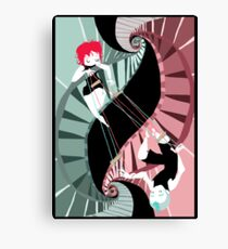 Transdimensional Puppetry Canvas Print