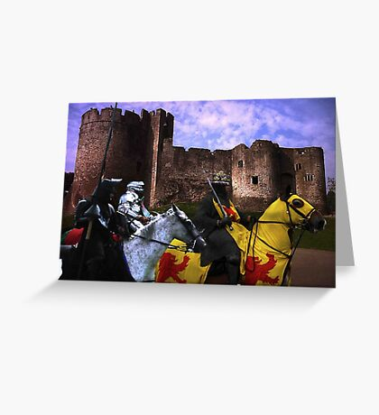 A Knight's Quest Greeting Card