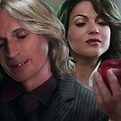 Once Upon a Time - Mr. Gold and Regina by Kristofer Floyd