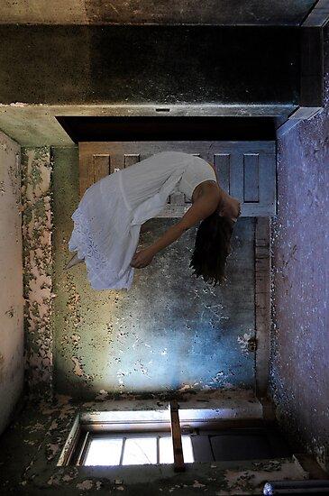 """Histoire des Mentalités""(Self Portrait), Abandoned Asylum by kailani carlson"