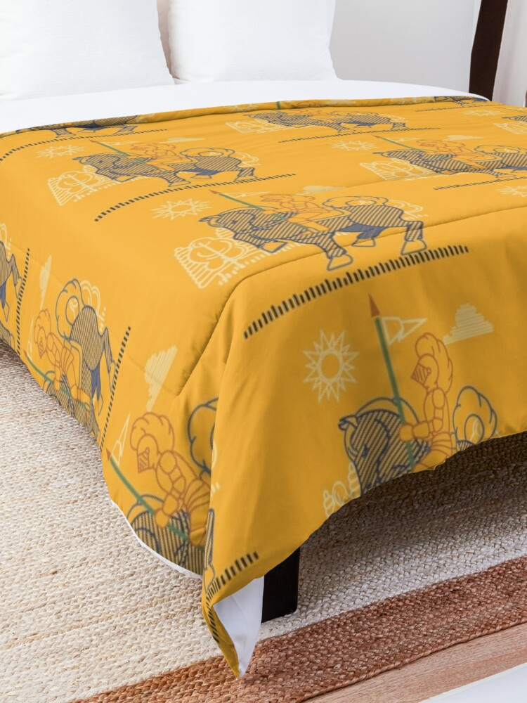 Alternate view of Knight N Pike Comforter